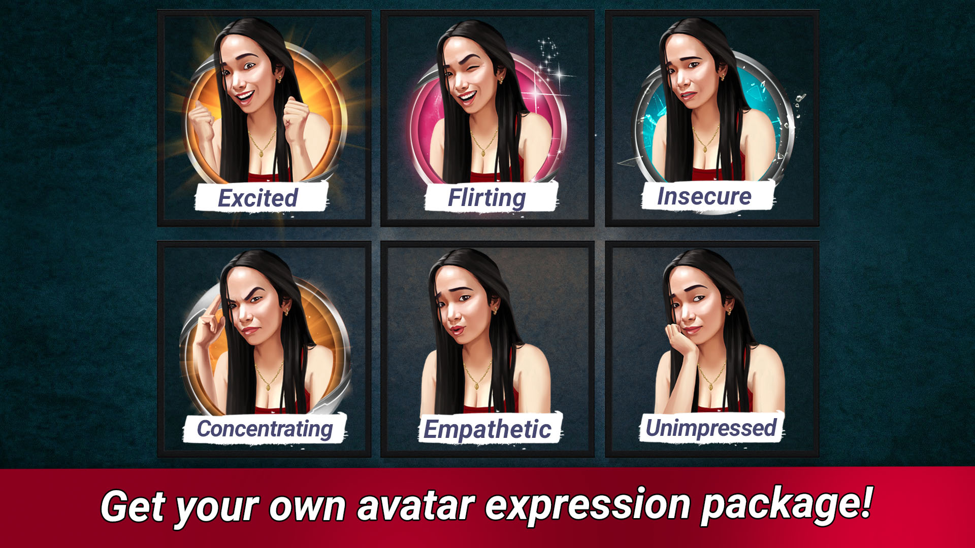 Avatar Expression Packs