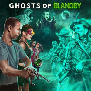 Awesome Story Games Poster – Ghosts of Blanoby – Investigators vs Ghosts Army