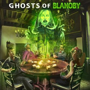 Awesome Story Games Poster – Ghosts of Blanoby – Sarah Ghost