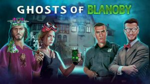 Awesome Story Games Poster – Ghosts of Blanoby – Loading Screen