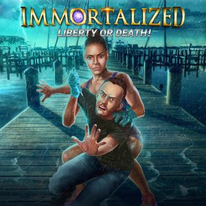 Awesome Story Games Poster – Immortalized – Irina Gives Injection