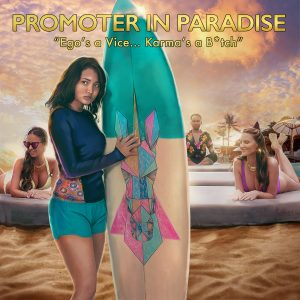 Awesome Story Games Poster – Promoter in Paradise – Tuti Surfboard