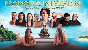 Awesome Story Games Poster – Promoter in Paradise – Loading Screen
