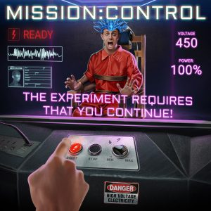 Awesome Story Games Poster – Mission: Control – Experiment